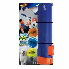 Nerf Dog Tennis Ball Blaster Cannon 3 Nerf Balls Play Chase Fetch Small or Large