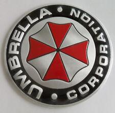 1PCS UMBRELLA Metal Emblem Badge Decals Sticker Car Motor Bike mm   28