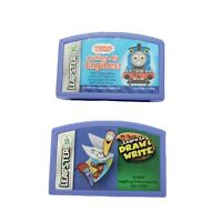 Leap Frog Leapster Game Cartridges Mr. Pencil's & Thomas And Friends Lot Of 2