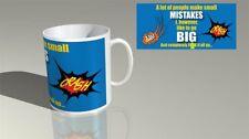 084 - ALOT OF PEOPLE MAKE MISTAKES  - Funny Novelty gift 11oz Mug