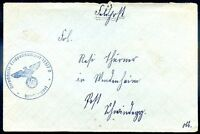 GERMANY FELDPOST WWII Censored Cover