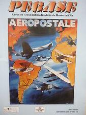 9/2008 REVUE PEGASE 130 DASSAULT SUPER MYSTERE B2 AEROPOSTALE LATECOERE