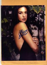 Monica Belluci-signed photo