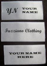 1000 PIECES CUSTOM SATIN PRINTED PERSONALIZED LOGO LABELS