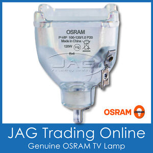 OSRAM P-VIP 100-120/1.0 P20 DLP TV LAMP - JVC Television Rear Projection Bulb *H