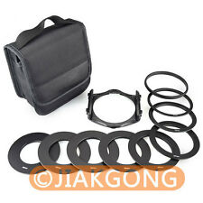 Filter Wallet Case Bag Box for Cokin P series with 9 Ring Adapter+Filter Holder