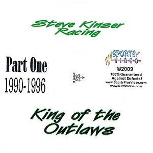 Steve Kinser Racing DVD King Of The Outlaws 1990-2007  3 Disc Set