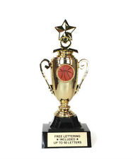 Basketball Trophy- Shoot- Dribble- Jump Shot-  Mini Cup Series- Free Lettering