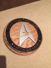 star trek cast and crew plaque   voyager   5TH