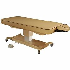 """MT Massage 30"""" inch MaxKing Comfort Treatment SPA Electric Lift Table Bed Beige"""