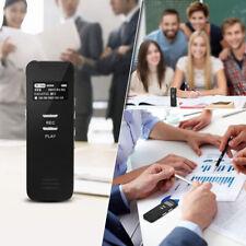 Mini Spy Audio Recorder Voice Listening Device 10 Hours 8GB Bug Recording USA