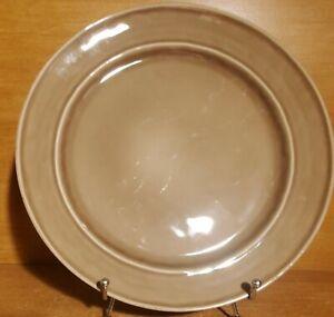 "Pottery Barn CAMBRIA MUSHROOM Dinner plate, 11 3/4"", Portugal, Very good"