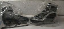 American Mens 554 Padded Figure Ice Skate Black Size 12 Lace Up - Priority Mail