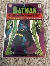 Batman #195 (DC Comics 1967) 1st Appearance Bag O' Bones Silver-Age VG+ 4.0
