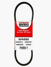 Serpentine Belt-GAS, Engine: N16B16A, FI, BMW Bando 6PK900