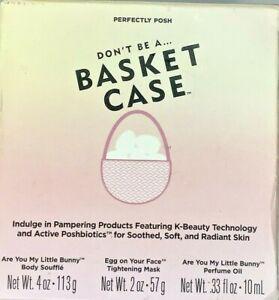 Perfectly Posh Basket CaseBody Souffle, Face Mask, Perfume-Sandalwood, Citrus