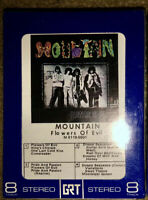 NEW SEALED MOUNTAIN 8-TRACK TAPE FLOWERS OF EVIL UNOPENED LOOK!!!