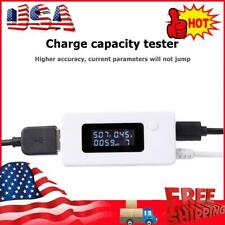 Lcd Micro Usb Tester Digital Dc Voltmeter Ammeter Power Meter Usb Charger Doctor