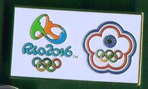 RIO 2016. OLYMPIC GAMES. OLYMPIC PIN. NOC PIN. TAIWAN. LARGE PIN