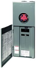Main Breaker Csed 200 Amp 20-Space 40-Circuit Outdoor Ring-Type Overhead Service