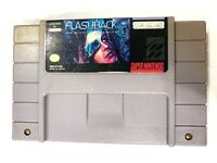 Flashback: The Quest for Identity SUPER NINTENDO SNES Game TESTED Working!