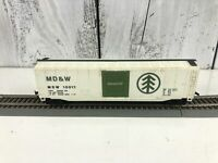 Vintage Ho Scale Bachmann MD&W 10017 Box Car