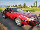 1987 Ford Thunderbird  1987 Supercharge 2dr Red Very NICE