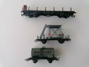 DDR Pico Express Piko Dahmer 3 Güterwagen Ehlcke Gebert Rarrasch