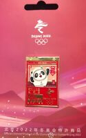 Beijing 2022 winter Olympic games One year to go and mascot pin