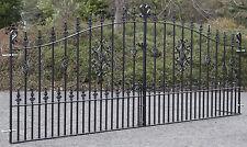 Wrought Iron Ornate Metal Garden Driveway Gates -10FT(3048mm) opening