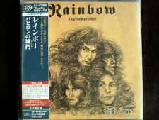 Rainbow - Long Live Rock'N'Roll Japan Mini LP OBI SACD New UIGY-9040