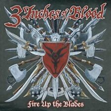 Fire Up The Blades by 3 Inches of Blood (CD, 2007 Roadrunner, EU, RR 8023 2)