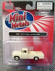 Classic Metal Works 30409 Mini Metals '60 Ford Pickup Corinthian White