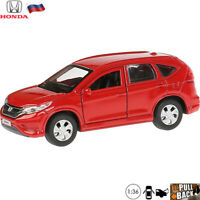 Diecast Vehicles Scale 1:36 Honda CR-V Red Russian Model Car