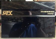 Old School MTX Thunder 2300X 2 channel amplifier,Rare,Amp,USA,vintage