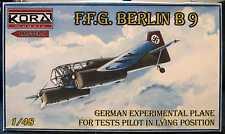 KORA Models 1/48 German F.F.G. BERLIN B-9 Prone Pilot Trainer