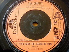 """TINA CHARLES - TURN BACK THE HANDS OF TIME  7"""" VINYL"""