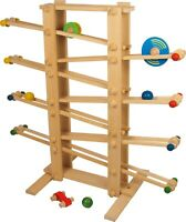 Small Foot Marble Run Giant 2484 Chidlrens Clic Clack Race track wood wooden toy