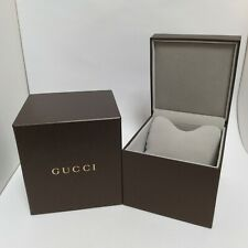 GUCCI Authentic Bracelet Bangle Wristwatch Jewelry Presentation Box Case