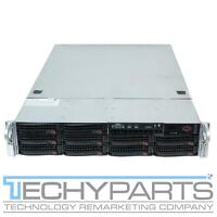 Supermicro CSE-829BTQ-R1K28LPB 2U USB 3.0 10-Bay 3.5 Server Chassis 2x 1280W PSU
