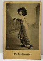 The New Gibson Girl, Anglo Life Series Victorian Model Photo Postcard C22
