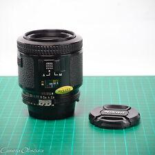 Nikon 80mm f/2.8 AF-Nikkor FX Lens for F3AF, F4