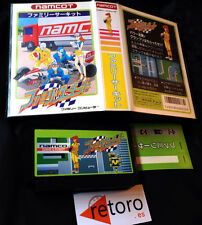 FAMILY CIRCUIT FORMULA 1 NAMCO Nintendo Famicom NES Japonesa Completo Buen Estad