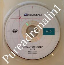 2010 SUBARU LEGACY NAVIGATION DISC DVD 2.1 MID US AL AR KS KY MN MS MO NE SD TX
