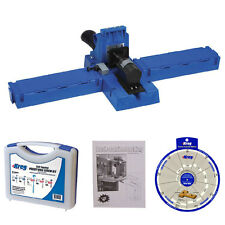 Kreg Jig K5 Pocket Hole Jig with Screw Joinery Kit, Booklet, and Screw Selector