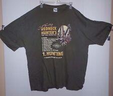 VINTAGE JEFF FOXWORTHY  REDNECK HUNTER'S TOP 10 PRIORITIES Shirt 3X XXXL TEE