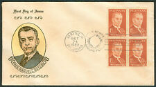 1963 Philippines PRES. MANUEL L. QUEZON First Day Cover - B