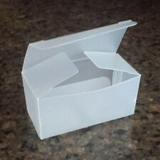 Small Frosted Ballotin Candy Favor Boxes, Packages of 20