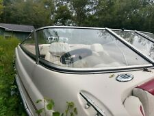 Glastron MX-185 Starboard Front Curved Windshield, THIS SINGLE PIECE ONLY