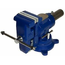 """Yost Model 750-Di, Yost 5"""" Multi-Jaw Rotating Combination Pipe & Bench Vise"""